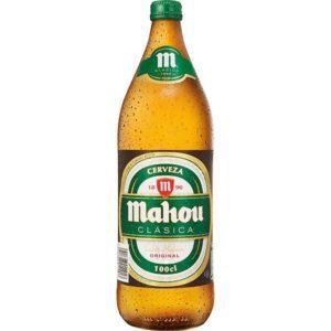 mahou botella